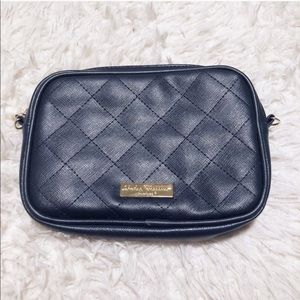 Salvatore Ferragamo Midnight Blue Cosmetic Bag!